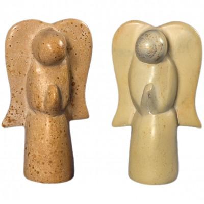 Engel, Speckstein Figur Handarbeit