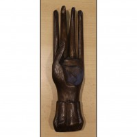 Hand wood figure, wooden hand