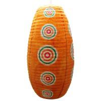 Paper lampshade orange