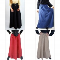 Medieval skirt monochrome