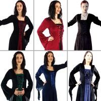 Mittelalter Samt Kleid