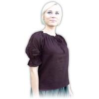 Mittelalter-Bluse Carmen kurzarm