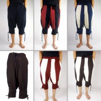 Medieval pants short, knee breeches