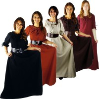 Medieval Dress, short sleeves