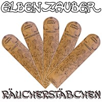 """ELBENZAUBER"" Incense sticks, all varieties"