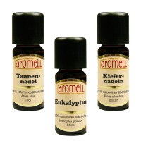 "Essential oils set of 3 ""sauna"""